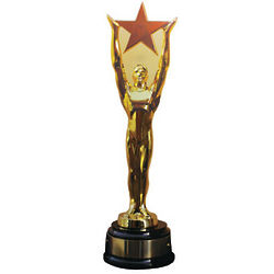 Star Award Cardboard Stand Up
