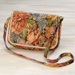 Floral Tapestry Handbag