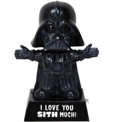 Darth Vader I Love You Sith Much Bobblehead