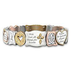 Women's Faith Is Believing Bracelet