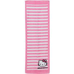 Hello Kitty Striped Tennis Towel