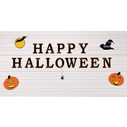 Halloween Garage Door Magnet Set