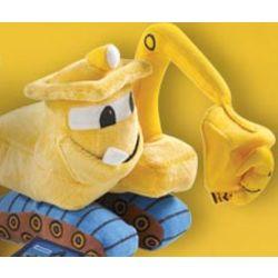 Excavator Plush Toy