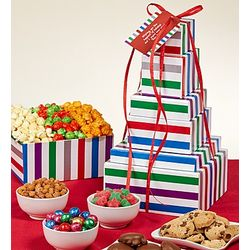5 Tier Jewel Ornaments Snack Tower