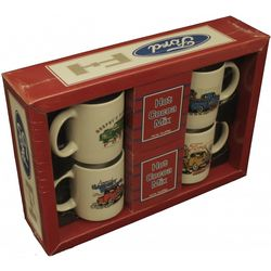 Ford Truck 4-Mug and Cocoa Gift Box