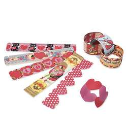 Valentine's Paper Chain Garland Kit