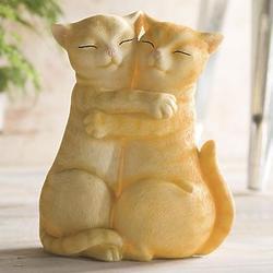 Loving Kittens Table Statue