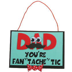Dad You're Fan Tache Tic Craft Kit