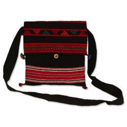 Celebration Cotton Flap Handbag