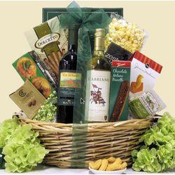 Italian Classics Sangiovese & Pinot Grigio Wine Gift Basket