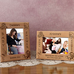 Personalized Baby Shower Picture Frame