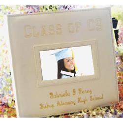 White Graduation Photo Album