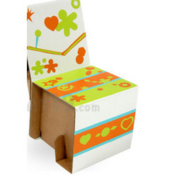 Elia Miniature Cardboard Chair Kit for Kids