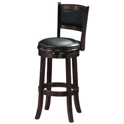 Augusta Counter Stool in Cherry Finish