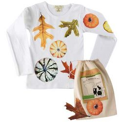 Do-It-Yourself Pumpkin or Spider T-Shirt Kit