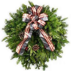 American Spirit Holiday Wreath