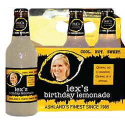 Personalized 6-Pack Hard Lemonade Label