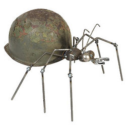 Army Ant Metal Sculpture
