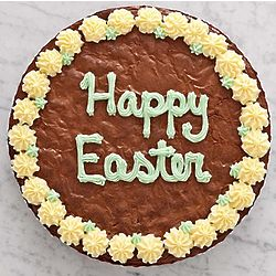 Happy Easter Party Brownie