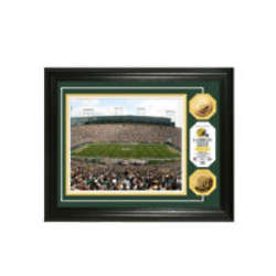 NFL Stadium Photo Collage And Gold Coins