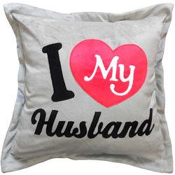 I Love My Husband Pillow