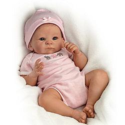 Little Peanut Lifelike Poseable Baby Doll