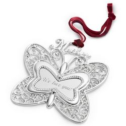 Butterfly Heirloom Mother Ornament