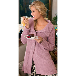 Cuddly Fleece Cardigan