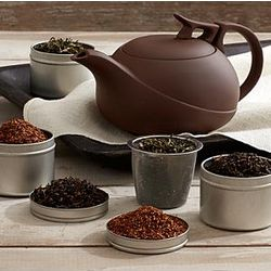 Yixing Tea Pot and Tea Set