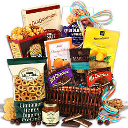 Cookies and Treats Sympathy Gift Basket