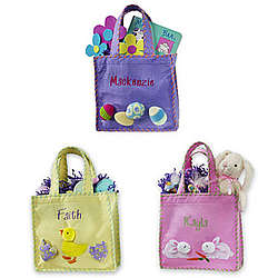 Easter Appliqued Tote Bag