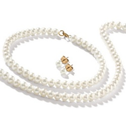 3 Piece Freshwater Pearl Jewelry Set