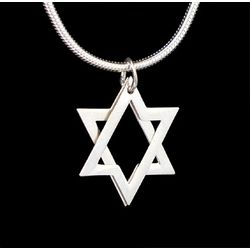 2-Dimensional Star of David Necklace