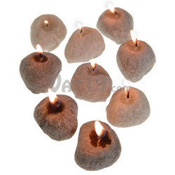 Small Pebble Candles