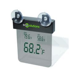 Solar Digital Window Thermometer