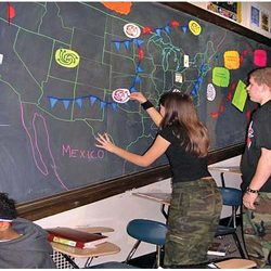 Regional Weather Patterns Blackboard Manipulative