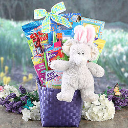 Easter Elephant Gift Basket
