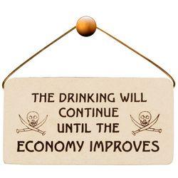 Economy Plaque