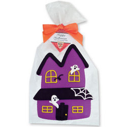 Giant Halloween Haunted House Cookies