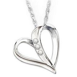 Dad's My Daughter, My Heart, My Love Diamond Pendant