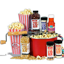 Popcorn Lovers Popcorn Cooker Set