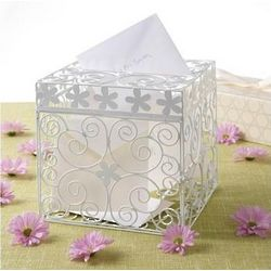 Floral Wedding Gift Card Box