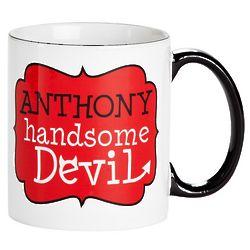 Handsome Devil Personalized Mug