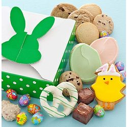 Easter Treats Gift Box with Plush Bunny