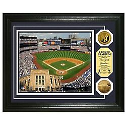 MLB Stadium Photo And Gold Coins