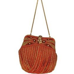 Vintage Cascade 1920s Style Evening Bag