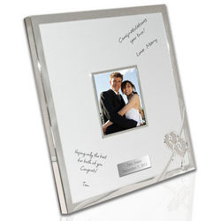 Personalized True Love Autograph Frame