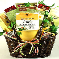 Fireside Pick-Me-Up Soup Gift Basket