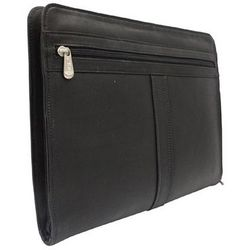 Black Leather 3-Way Envelope Padfolio