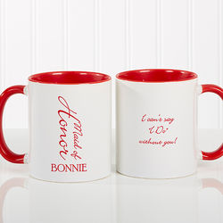 Home > Gift Ideas > Personalized Bridal Brigade Wedding Coffee Mug